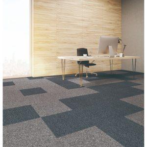 Waterfront_7807-01-KRSBONDWAFRTI-roomscene-Bondi-stain proof-no exceptions-commercial wear-backing performance-grays-blacks-eurobac-square-polypropylene